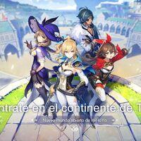 Genshin Impact ya se puede descargar en iOS y Android: uno de los RPG más esperados del año