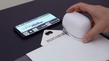 PrintBrush XDR, la impresora portátil que te permite imprimir en cualquier superficie del hogar