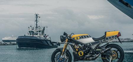 Yamaha RD350 Crazy Carbon: una maravillosa oldie fruto de la pasión y el esfuerzo