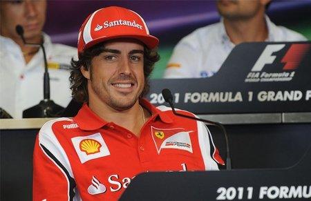 GP de Europa F1 2011: Fernando Alonso consigue el mejor tiempo en los segundos entrenamientos libres