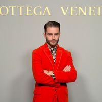 Pelayo Díaz cambia el leopardo por la cebra en su look para  Masters Of Craft de Bottega Veneta en Madrid