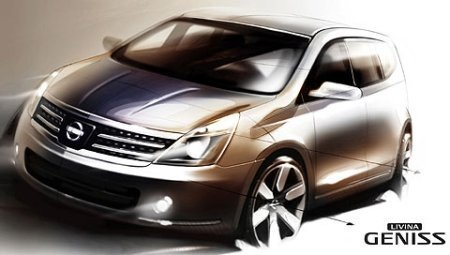 Nissan Livina Geniss, la apuesta futura de Nissan
