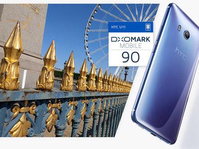 La cámara del HTC U11 se coloca en el primer puesto del ranking de DxOMark