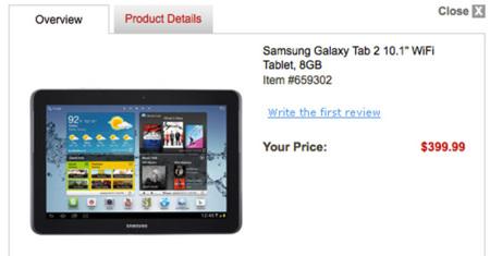 Samsung podría retrasar el Galaxy Tab 2 10.1 para añadir quad core
