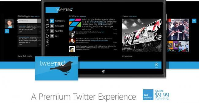 Tweetro para Windows 8