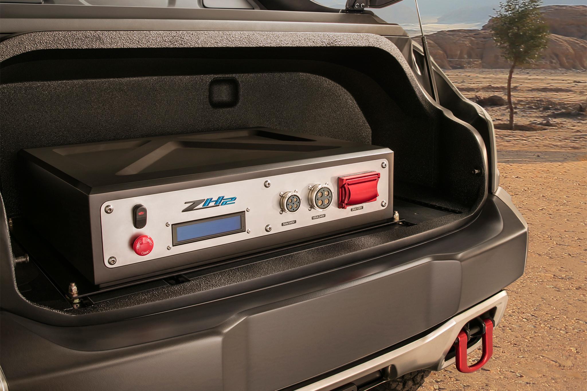 Foto de Chevrolet Colorado ZH2 (11/11)