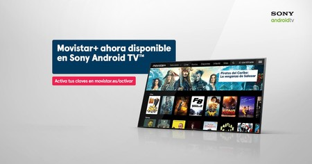 Las smart TV de Sony desde 2015 ya son compatibles con la aplicación de Movistar+