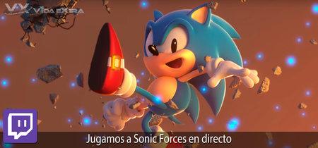 Jugamos en directo a Sonic Forces a las 17h (las 10h en Ciudad de México) [Finalizado]