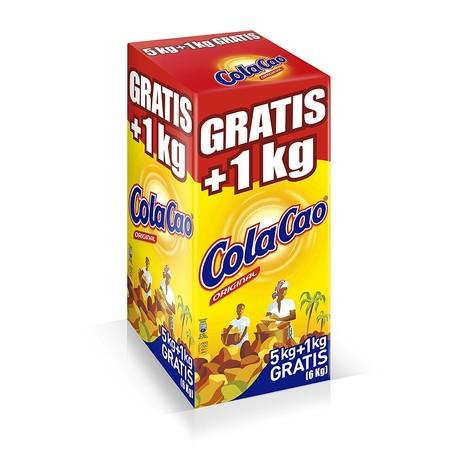 La caja de 6 kilos de Colacao instantáneo soluble está de oferta en Amazon y sólo cuesta 19,85 euros
