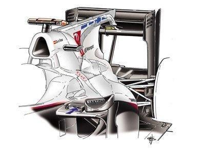 GP de China 2010: Ferrari, Mercedes GP y Williams estrenarán su F-Duct