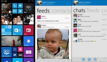 BlackBerry Messenger sigue en expansión con su llegada en versión beta a Windows Phone