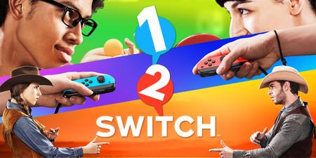 Nintendo confirma que 1-2-Switch estará compuesto por 28 minijuegos