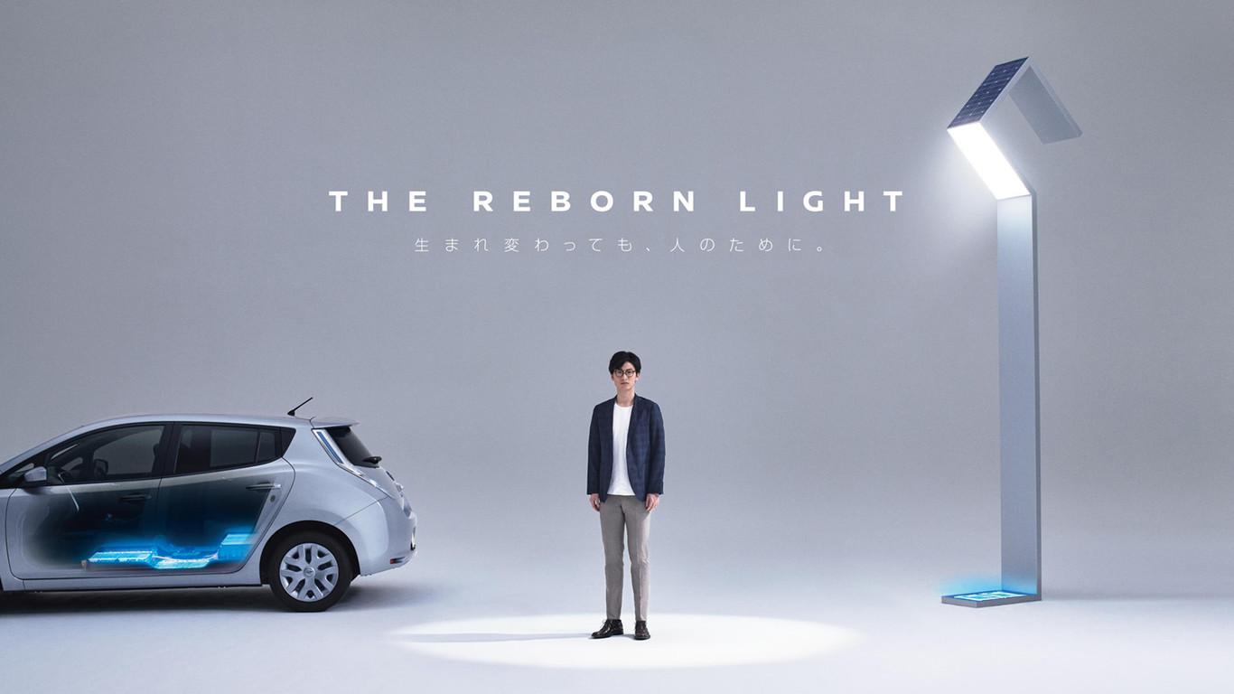 Nissan ya encontró cómo usar las baterías recicladas de sus Leaf: como fuentes de energía para farolas públicas