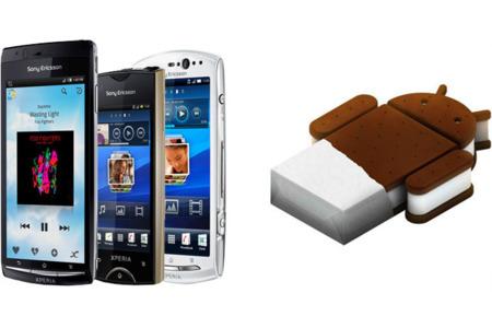 Vodafone y Yoigo empiezan a actualizar la gama Sony Ericsson Xperia del 2011 a Ice Cream Sandwich