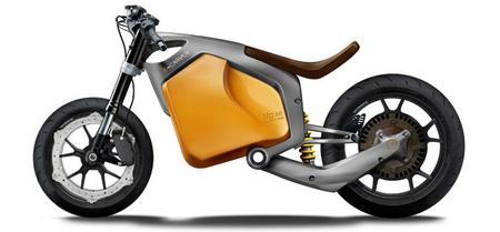Luca Bar presenta otro concepto de moto eléctrica