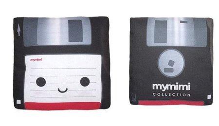 Un cojín para nostálgicos del disquete