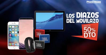Los Diazos del Movilazo en Phone House: Huawei P20 Pro, iPhone 6s y Xiaomi Redmi Note 7 rebajados