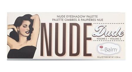 """Amor del bueno por la nueva paleta """"Nude-Dude"""" de The Balm"""