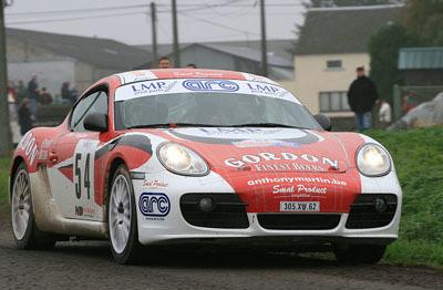 Curiosidades en competición: Porsche Cayman GT Rallye