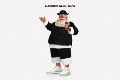 Santa Claus se pone molón (y viste a la moda)