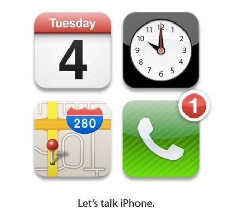 El nuevo iPhone será presentado el 4 de octubre, es oficial