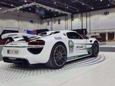 Por si hacía falta, un Porsche 918 Spyder se une a la policía de Dubai