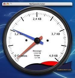 NetSpeedometer: Supervisa tu velocidad de conexión