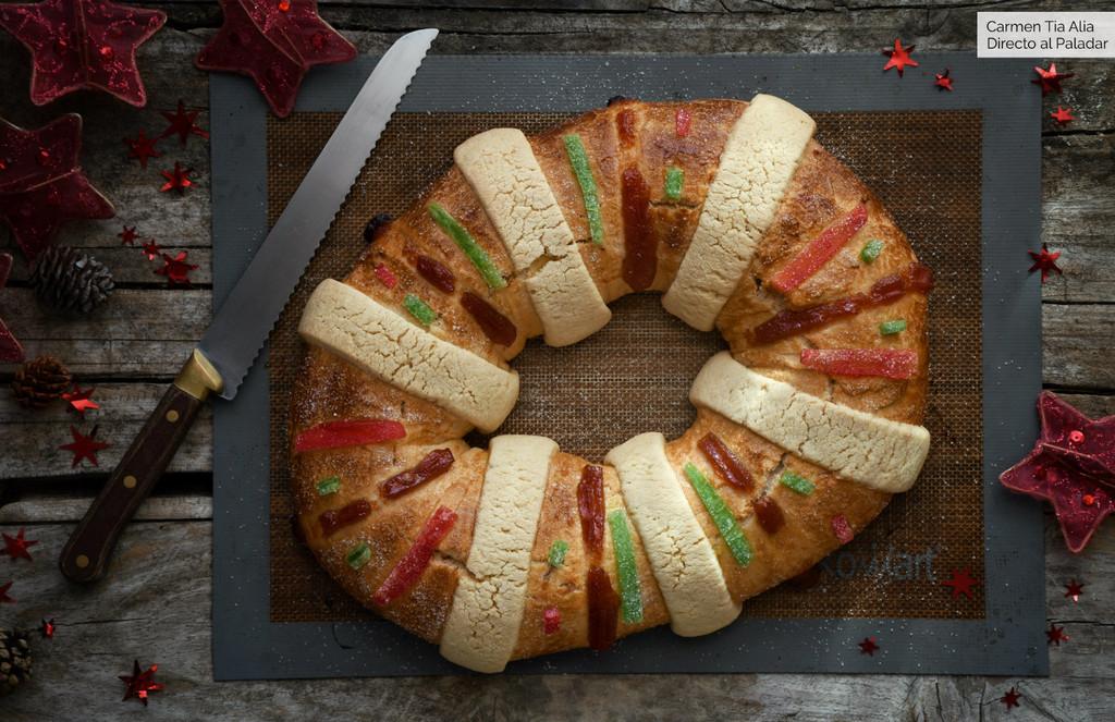 Receta de Rosca de Reyes mexicana, el equivalente al Roscón de Reyes español (que es aún mejor)