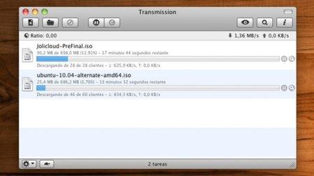 Transmission 2, el cliente bittorrent de referencia se actualiza
