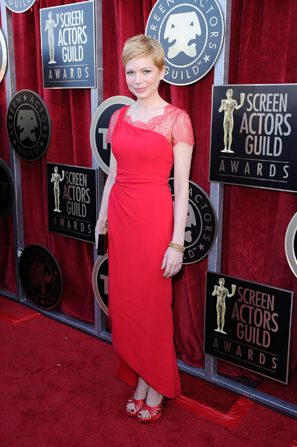 Michelle Williams Screen Actors Guild Awards