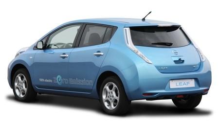 Nissan LEAF 2010 azul 03
