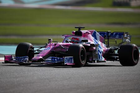 Sergio Perez Abu Dabi F1 2020