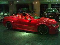 Mercedes CLK DTM AMG cabrio en color rojo