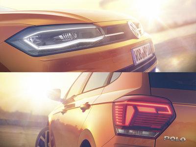Aquí están las dos primeras imágenes del Volkswagen Polo 2018