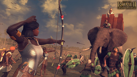 Total War: Rome II se ampliará en marzo con el pack Culturas Reinos del Desierto y sus cuatro facciones nuevas