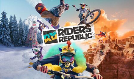 Riders Republic, el loco juego de deportes extremos de Ubisoft, contará con una beta a finales de agosto