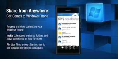 Box llega al marketplace de Windows Phone