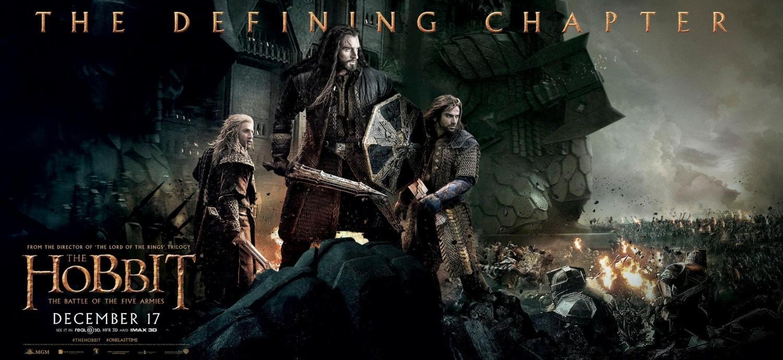 Foto de 'El hobbit: La batalla de los cinco ejércitos', últimos posters (1/3)
