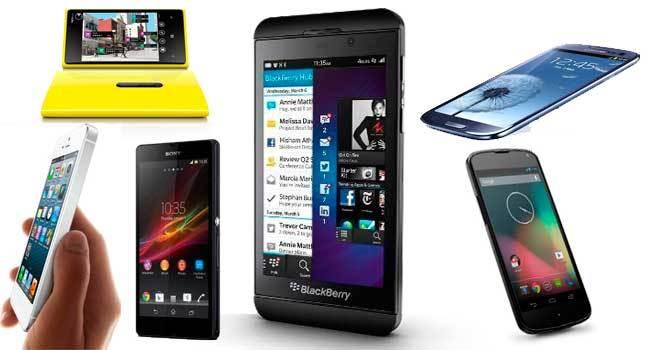 Conocida la BlackBerry Z10, ¿cuál es el mejor smartphone del mercado? Los comparamos