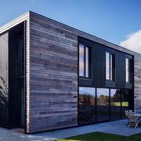 Ahorro energético y montaje en cuatro días: así son las casas prefabricadas Kiss House