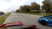 Arrancones entre Tesla Model S P85D y un Lamborghini Aventador