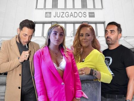 Rocío Carrasco, Fidel Albiac, Rocío Flores y Antonio David se volverán a ver las caras en los Tribunales: la fecha y el motivo de esta cita a cuatro ante el juez