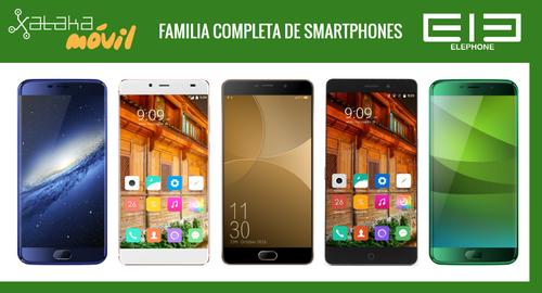 Así queda el catálogo completo de móviles Elephone