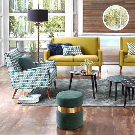 4 sofás de diseño para darle un toque chic a tu casa que encontrarás rebajados en La Redoute