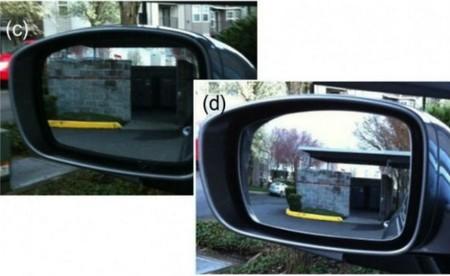 Espejo retrovisor progresivo sin ángulos muertos