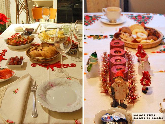 Navidades murcianas y suizas