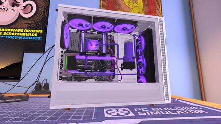 'PC Building Simulator' está gratis en Epic Games: el juego en el que sí es posible montar un PC con una gráfica next-gen