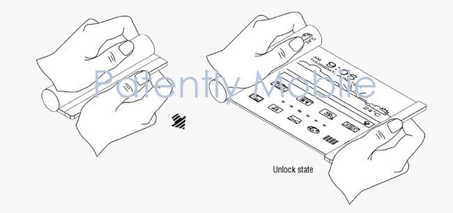Samsung móvil enrollable