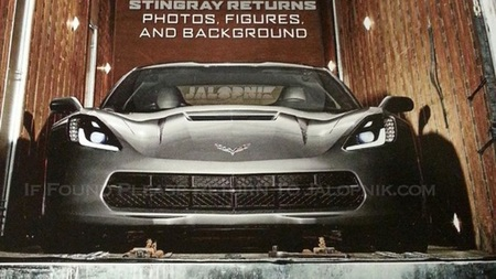 Chevrolet Corvette C7 frontal