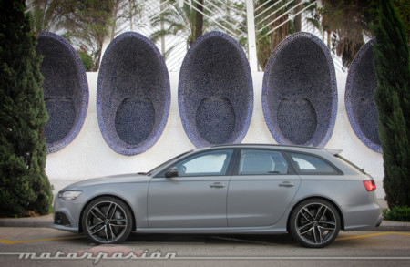 Audi RS6 Avant Prueba 3
